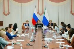 Президиум и участники сессии